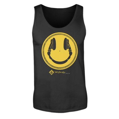 HEADPHONE SMILIE TANKTOP